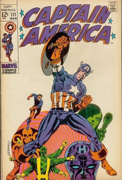 Steranko's previous work on Captain America