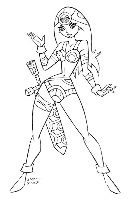 "Today's Warrior Woman is Big Barda — or, more accurately, ""Lil' Big Barda"""