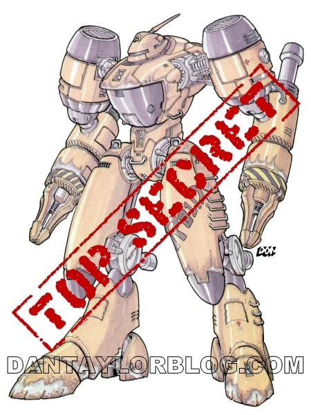 Don Figueroa's mech design