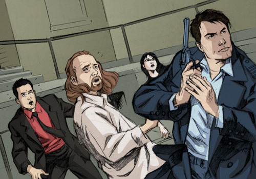 Torchwood comics