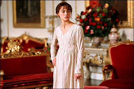 Finally saw the Keira Knightley Pride and Prejudice