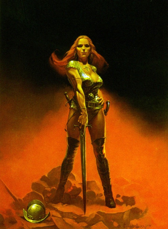 Kelly is known for, at least somewhat, for female warriors who aren't ...