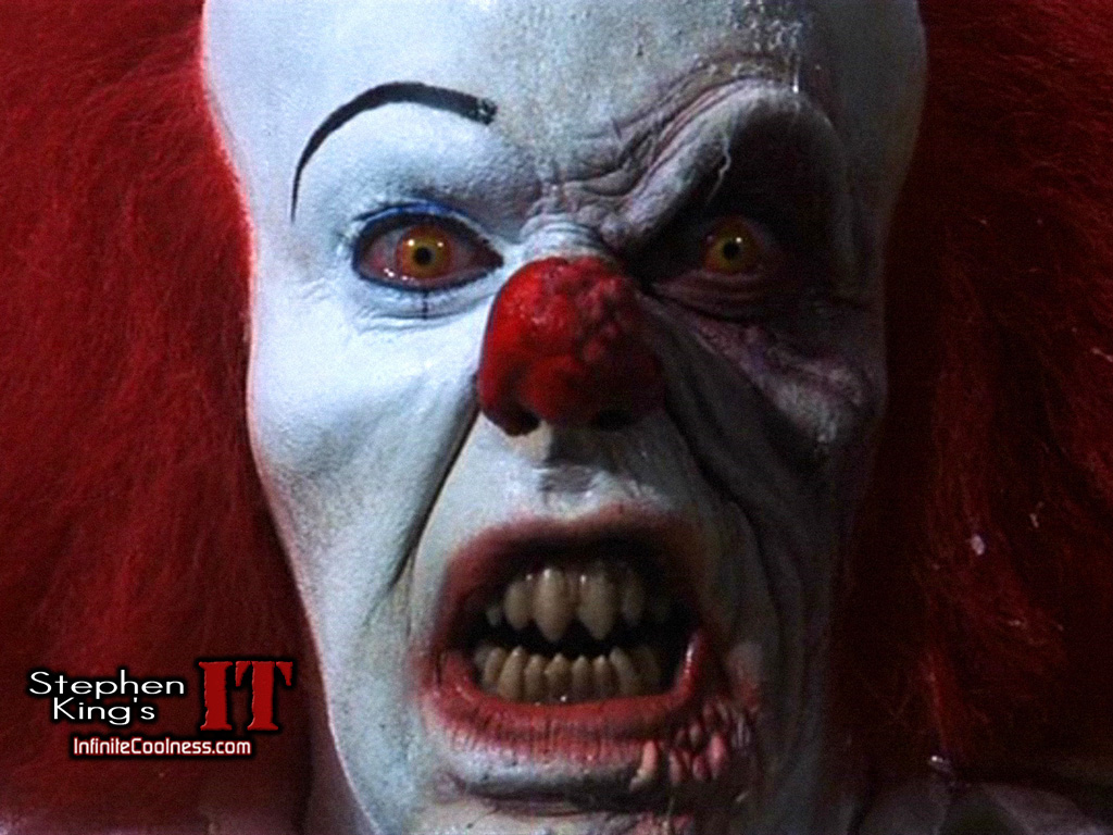 The 31 Monsters of Halloween: Scary Clowns!