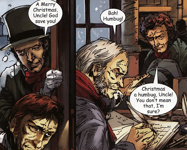 Michael May: 'Merry Christmas, Uncle!' | Campfire's A Christmas Carol (2010)