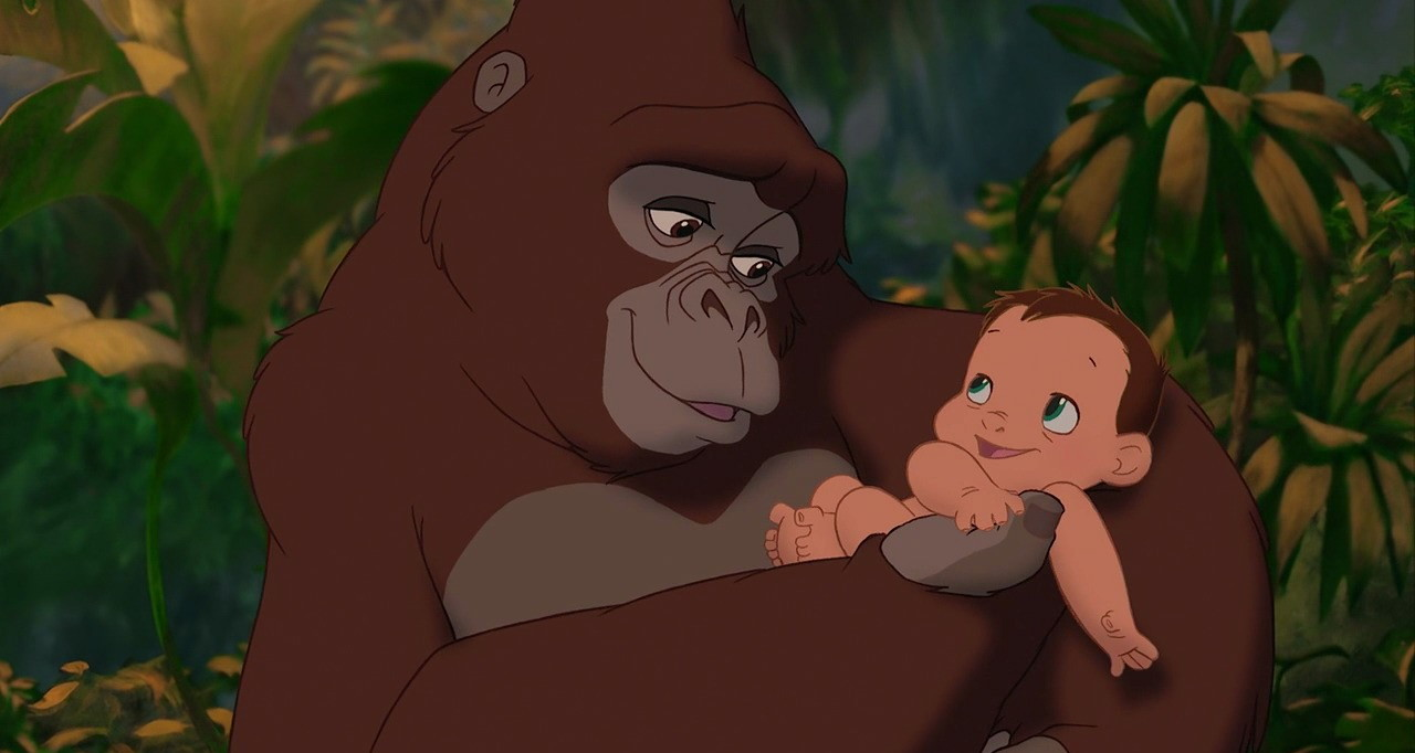 19 forgotten disney names that are perfect for naming our children hellogiggles - Tarzan gorille ...