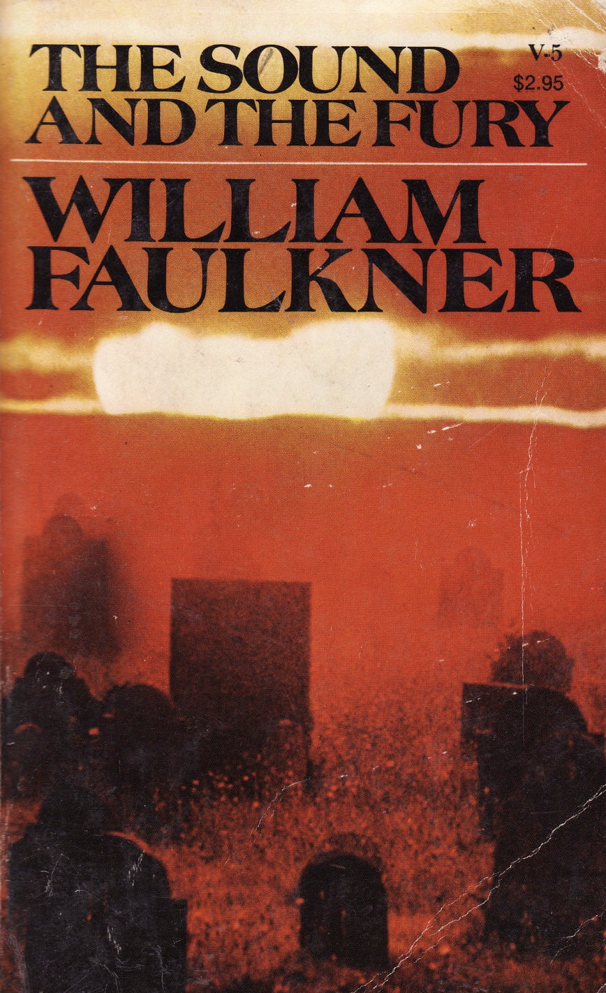 an examination of the plot of the sound and the fury by william faulkner The sound and the fury by william faulkner essay - in william faulkner's novel, the sound and the fury, the decline of southern moral values at the close of the civil war was a major theme.