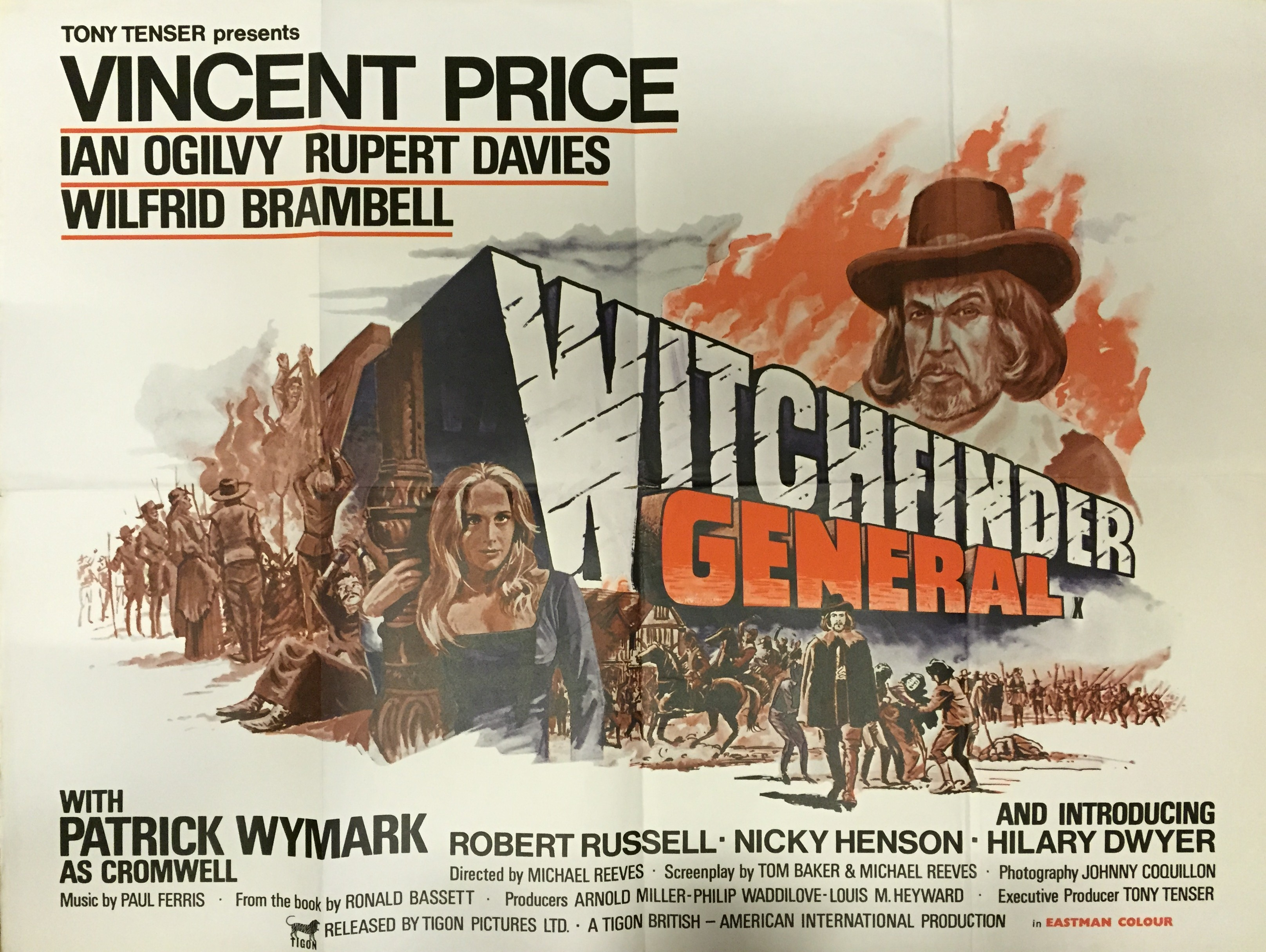 Michael may witchfinder general 1968 whos in it vincent price abbott and costello meet frankenstein the gene kelly three musketeers ian ogilvy return of the saint tv show fandeluxe